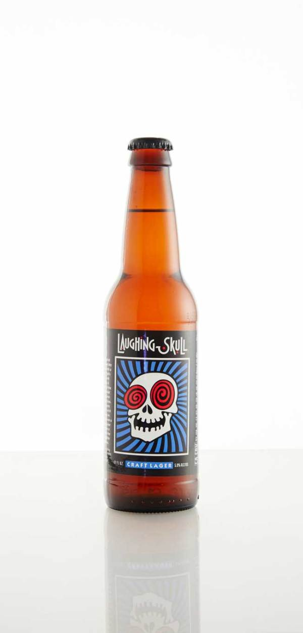 Red Brick Brewing Company Laughing Skull Craft Lager