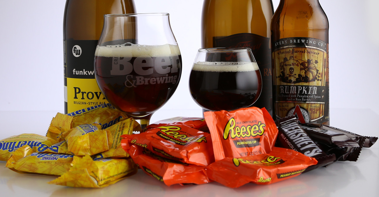 2017 craft beer pairings for halloween candy primary image - 2017 Halloween Candy