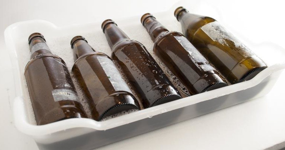 It's just an image of Unforgettable Remove Labels From Beer Bottles