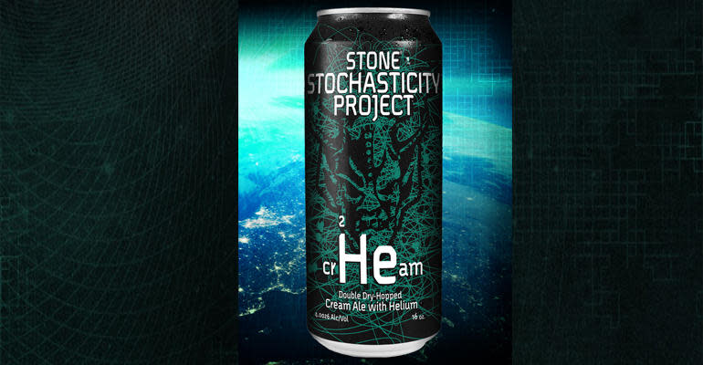 Stone Brewing's First Canned Beer, First Helium Beer Ever