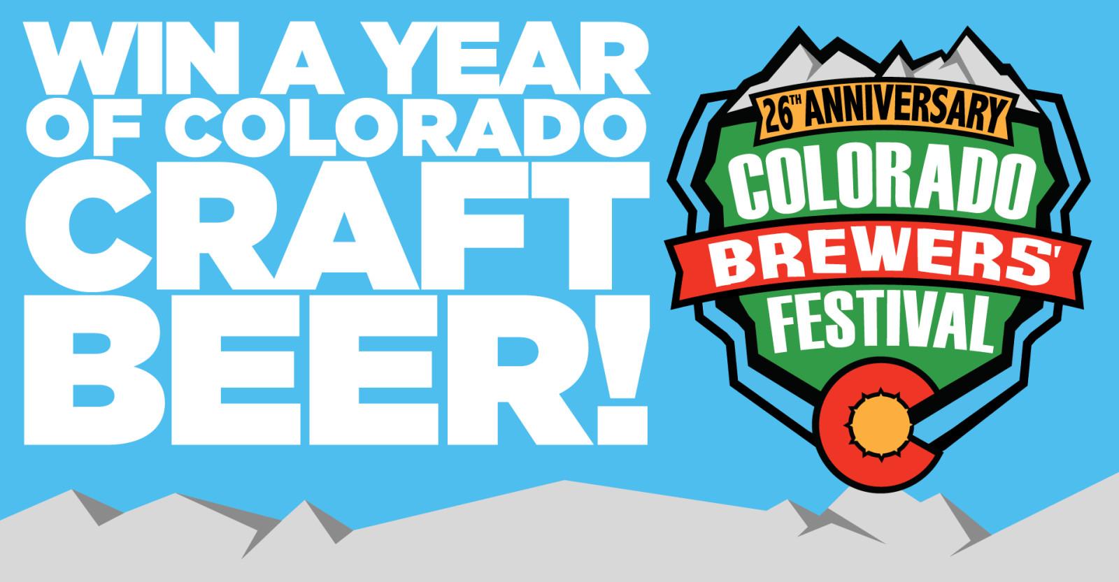 WIN A YEAR OF COLORADO CRAFT BEER | Craft Beer & Brewing