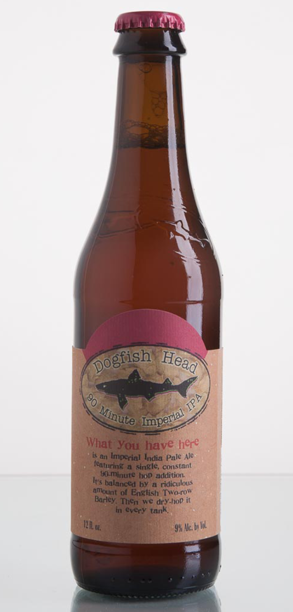 Dogfish Head Craft Brewery 90 Minute Imperial IPA
