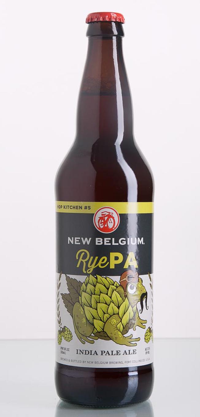 review new belgium brewing ryepa craft beer brewing