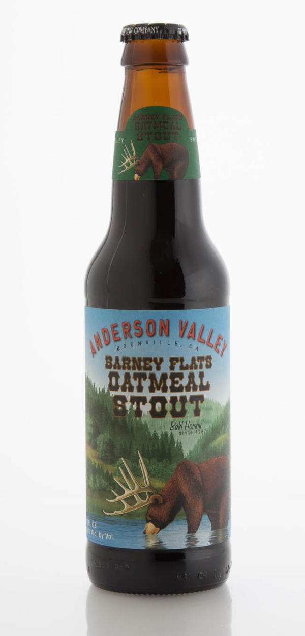 Anderson Valley Brewing Company Barney Flats Oatmeal Stout