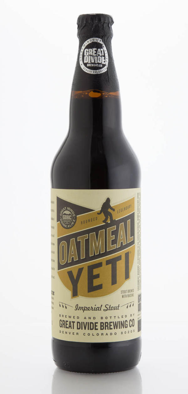 Great Divide Brewing Company Oatmeal Yeti
