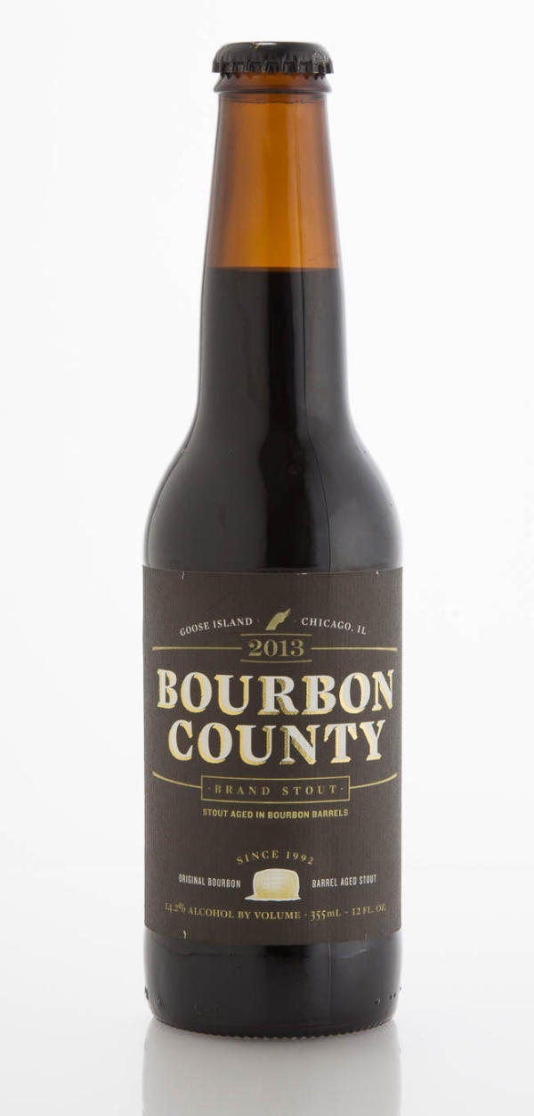 Goose Island Beer Company Bourbon County Brand Stout