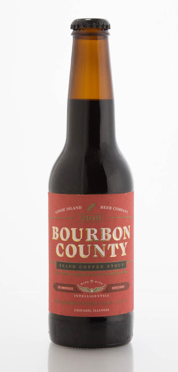 Goose Island Beer Company Bourbon County Brand Coffee Stout