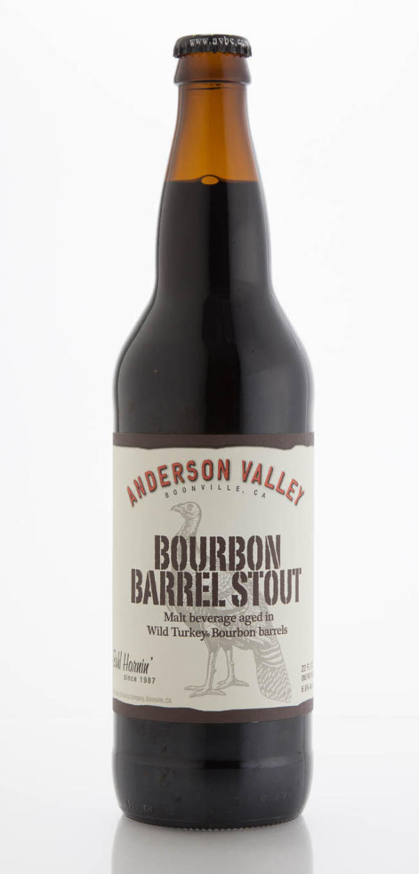Anderson Valley Brewing Company Wild Turkey Bourbon Barrel Stout