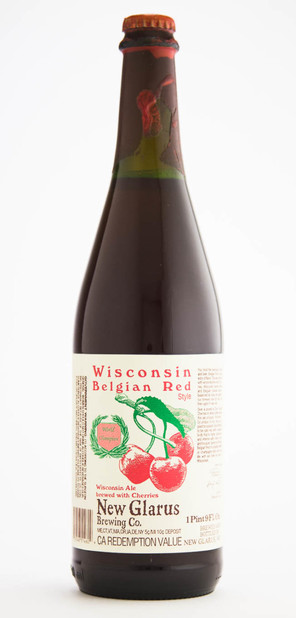 New Glarus Brewing Company Wisconsin Belgian Red