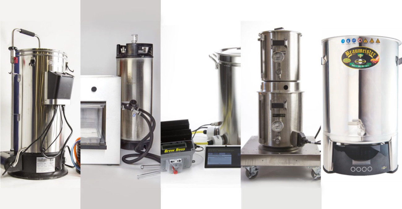 Brew Test: Electric All-In-One Brewing Systems (2016 Update) Primary Image