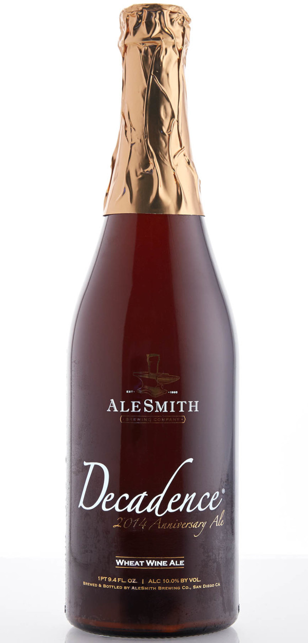 AleSmith Brewing Company Decadence