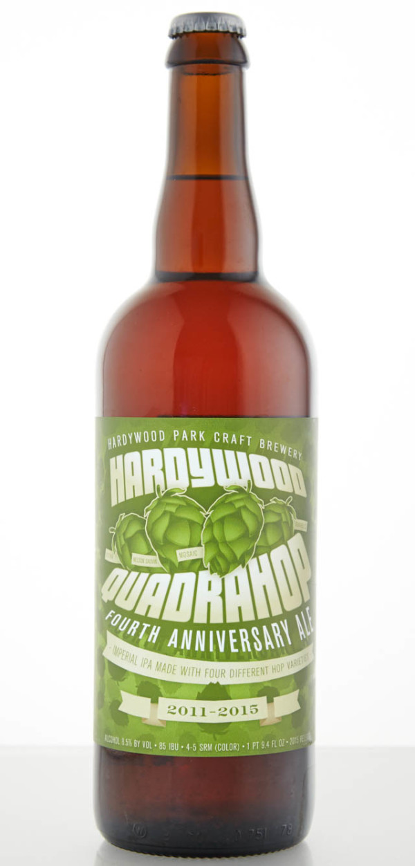 Hardywood Park Craft Brewery Quadrahop