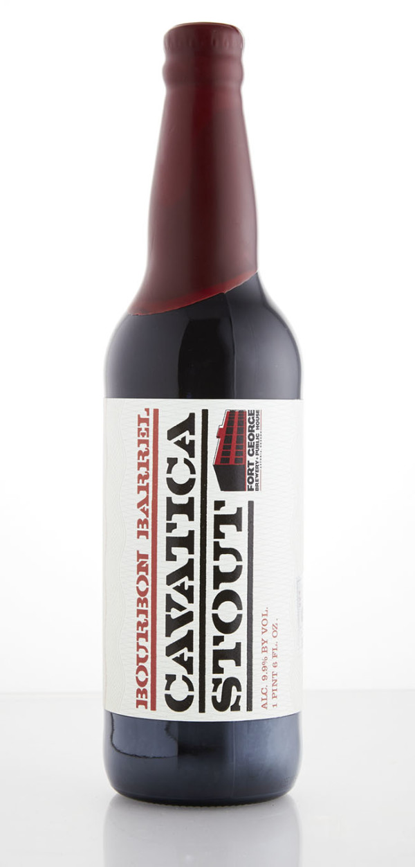 Fort George Brewery Bourbon Barrel Cavatica