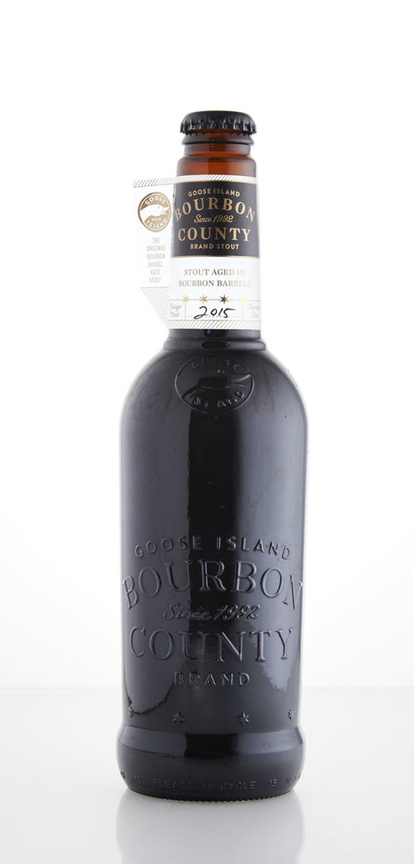 Goose Island Brewery 2015 Bourbon County Stout