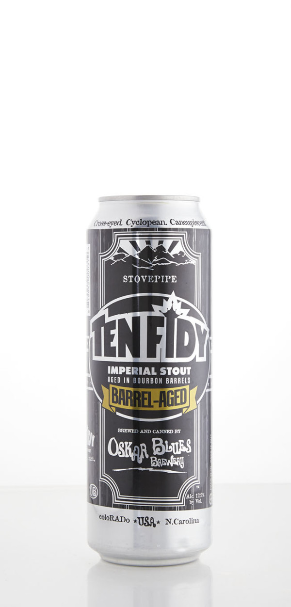 Oskar Blues Brewery Barrel-Aged Ten FIDY