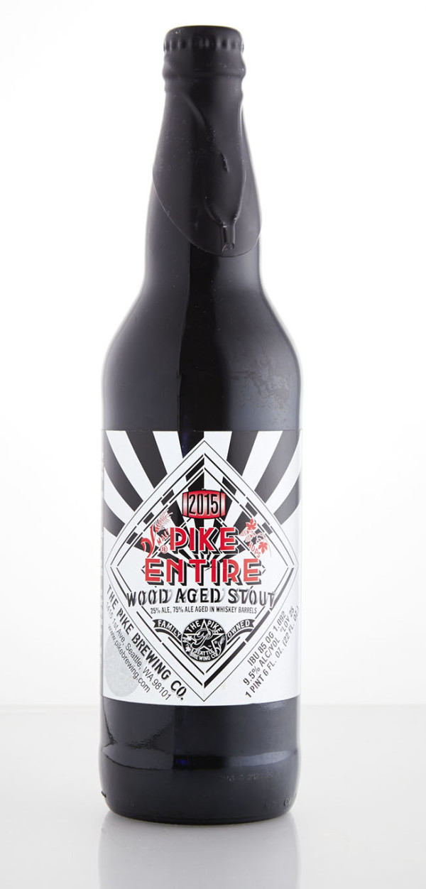 The Pike Brewing Company 2015 Pike Entire Wood-Aged Stout