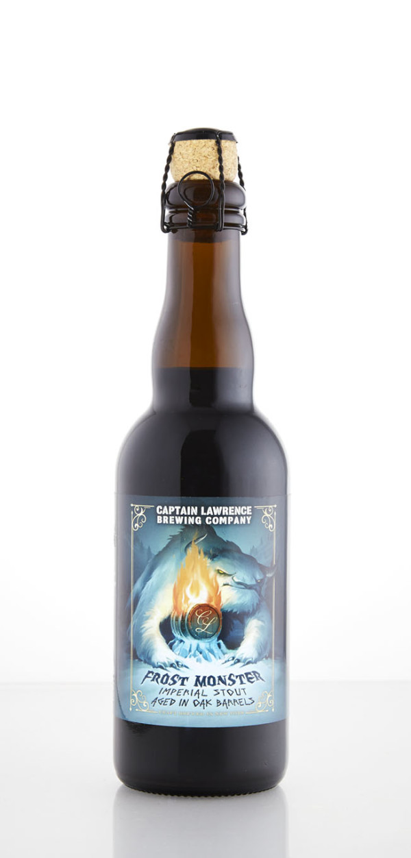 Captain Lawrence Brewing Company Barrel-Aged Frost Monster