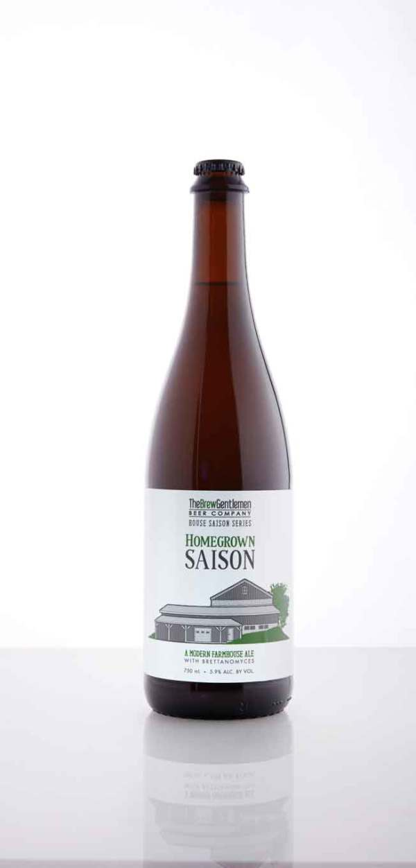 The Brew Gentlemen Beer Company  Homegrown Saison