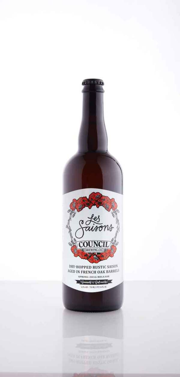 Council Brewing Company  Les Saisons
