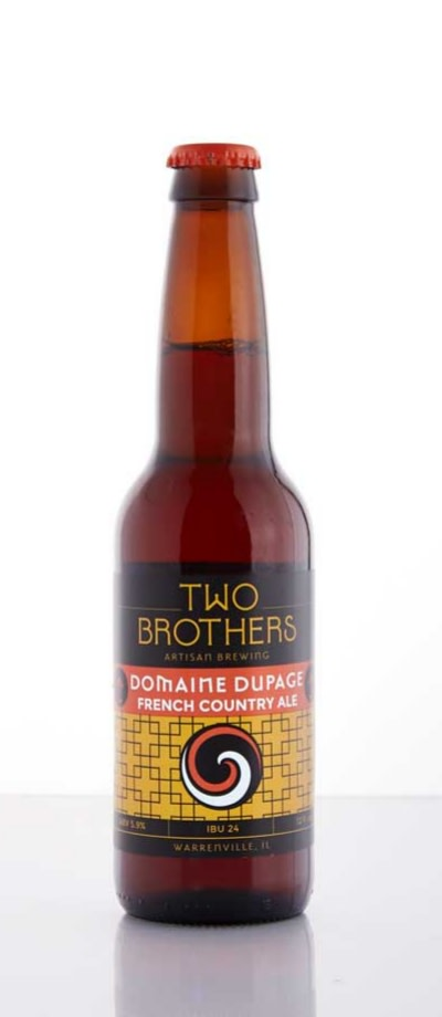 Two Brothers Artisan Brewing Domaine Dupage French Country Ale