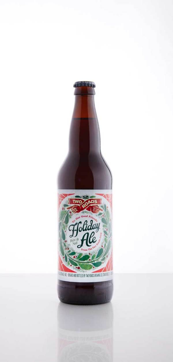 Two Roads Brewing Holiday Ale