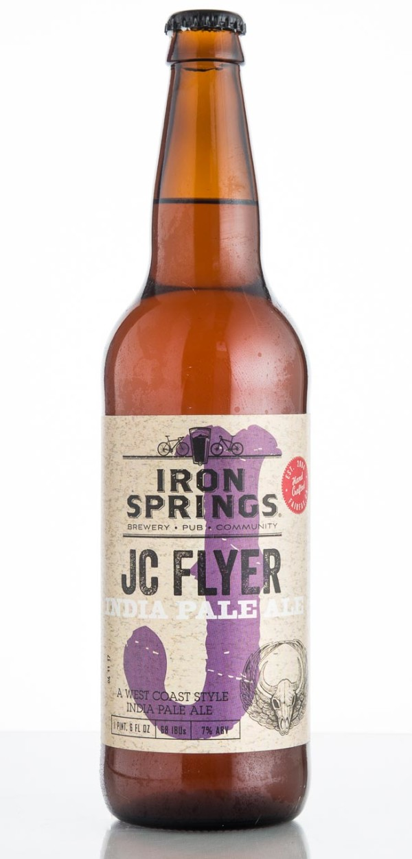 Iron Springs Pub & Brewery JC Flyer India Pale Ale