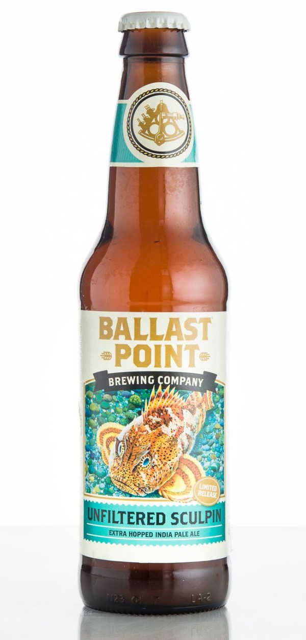 Ballast Point Brewing Company Unfiltered Sculpin