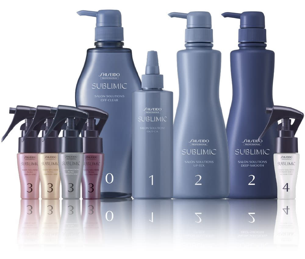 Salon Solutions Sublimic Products Shiseido Professional