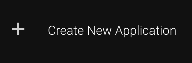 Create new app button
