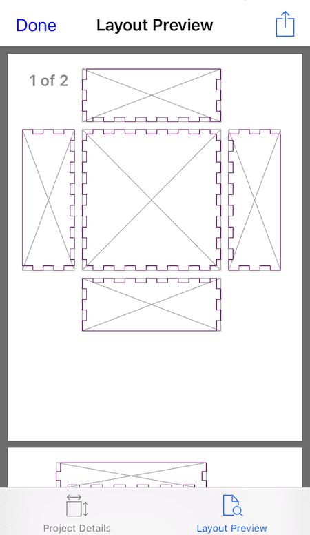 Box-o-matic welcome screen
