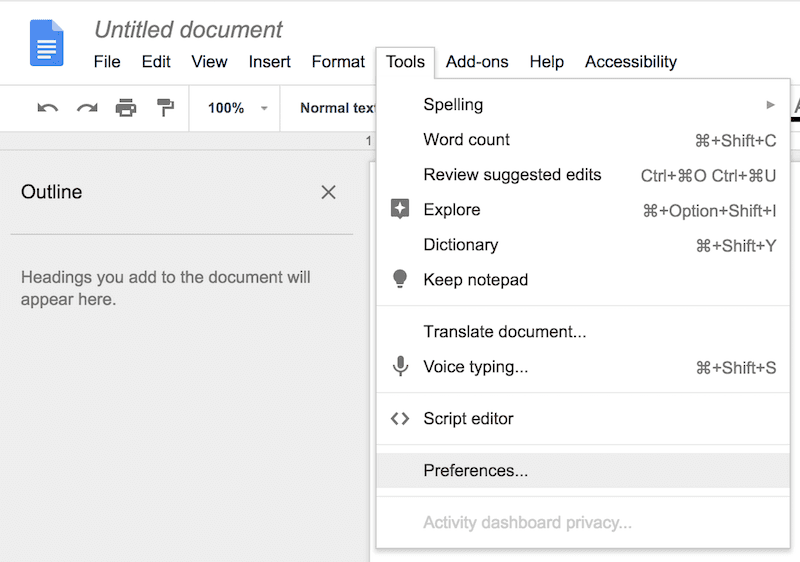 Setting Up Google Docs for Technical Interview Happiness