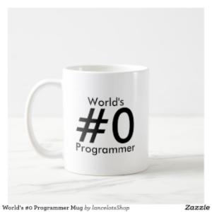 Worlds #0 Programmer Mug