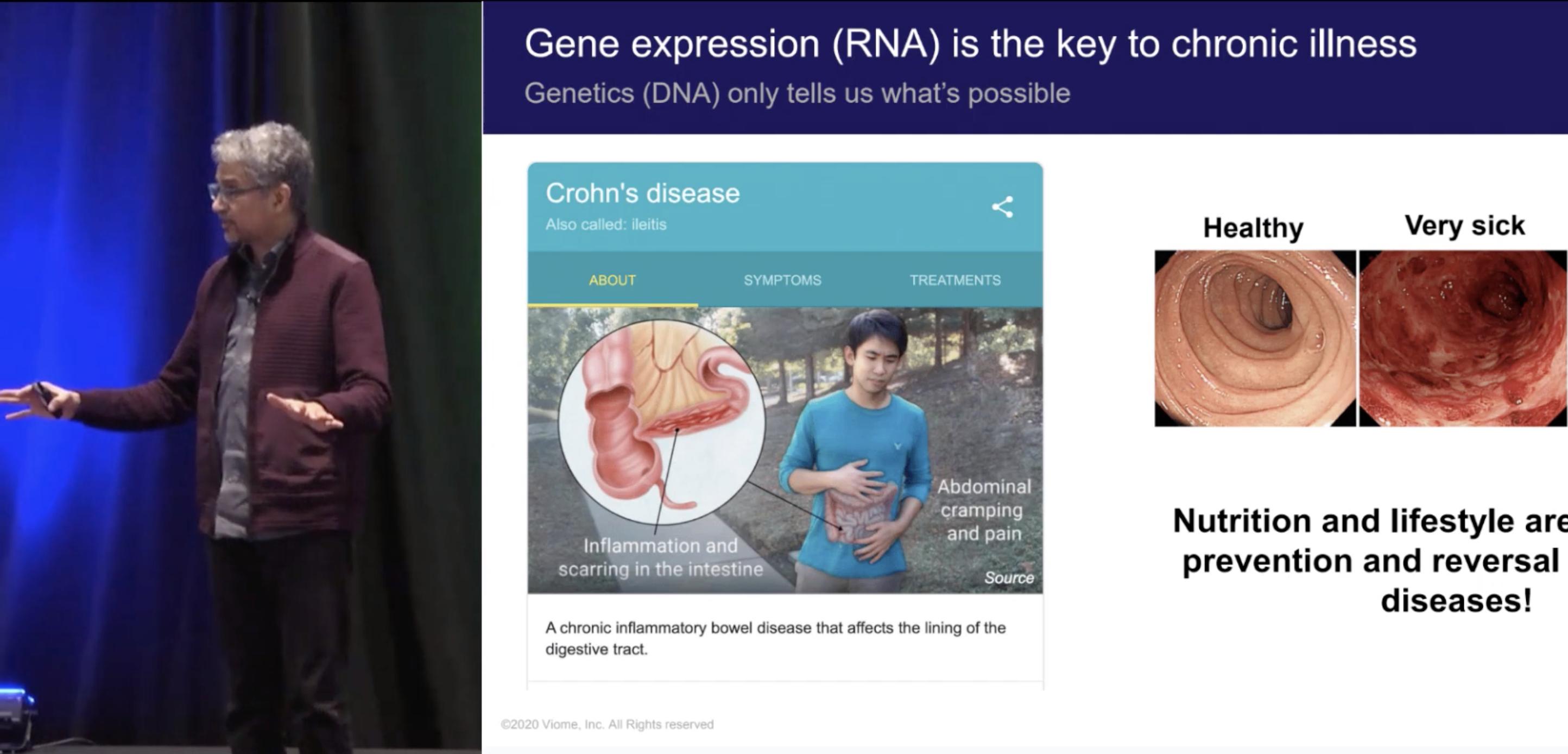 Machine Learning from Microbiome Metatranscriptomics Predicts Chronic Diseases - Guru Banavar, Viome