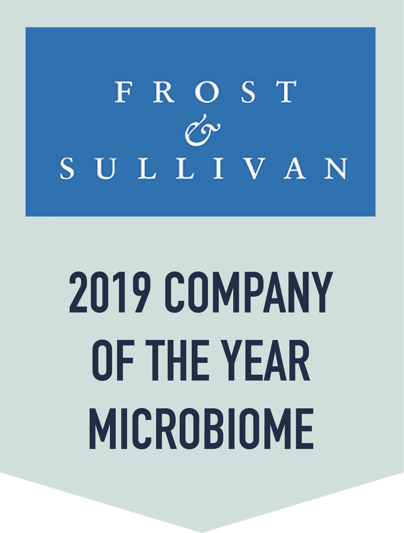 Viome Recognized by Frost & Sullivan as a 2019 Company of the Year for its Mission to Make Chronic
