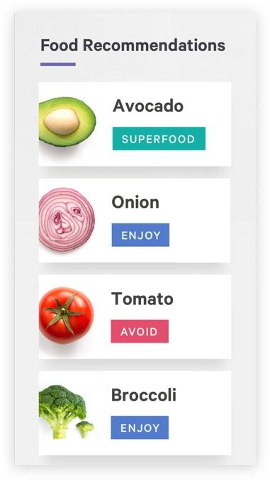 Food Recomendations
