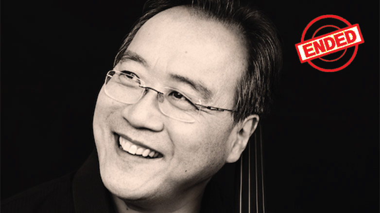 "Yo-Yo Ma Signed Copy of a ""Love Theme"" Score Including Personalized Recording of a Performance of the Piece and His Personal Notes"