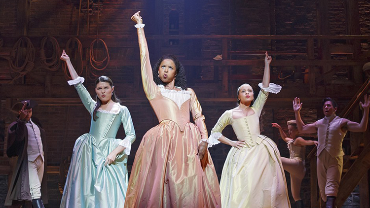 Sing with the Original Broadway Schuyler Sisters: Renée Elise Goldsberry, Phillipa Soo, and Jasmine Cephas-Jones