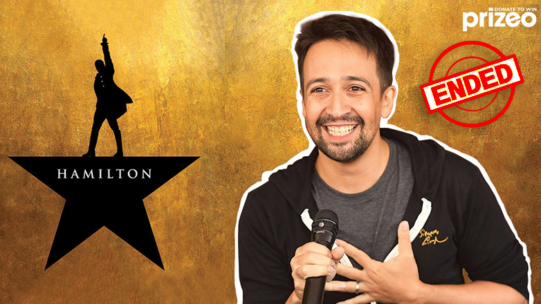 --SWEEPSTAKES ENDED-- Be the first to welcome back HAMILTON when it reopens at any theater! Plus, win a private Zoom with Lin-Manuel Miranda and $3000 from American Express