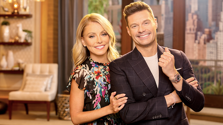 Meet Kelly Ripa and Ryan Seacrest on the Set of Live with Kelly and Ryan