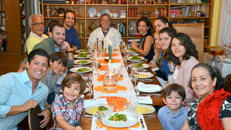 Break Bread with Lin-Manuel Miranda and His Family via Zoom