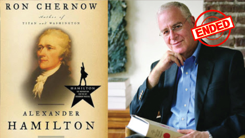Join Author Ron Chernow to Discuss His Biography Alexander Hamilton and How It Inspired the Musical Hamilton via ZOOM