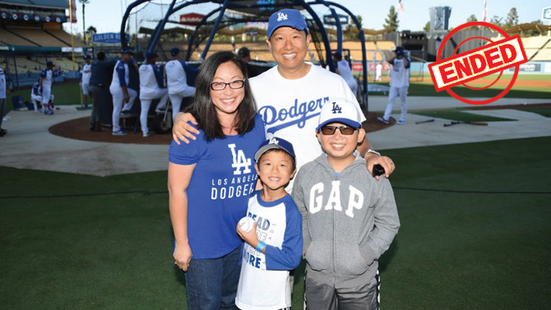 Watch Batting Practice from the Warning Track with 4 MVP Tickets to a LA Dodgers Home Game Including Signed Memorabilia by Mookie Betts and Clayton Kershaw