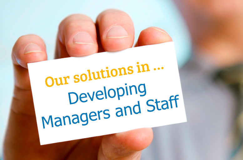 Solutions Developing Managers and Staff