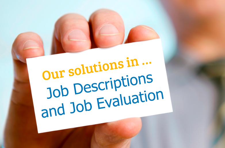 Solutions Job Descriptions and Job Evaluations