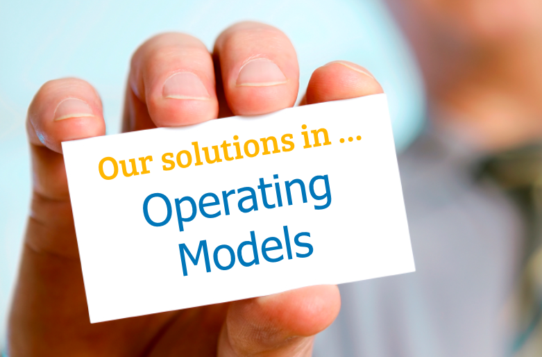 Solutions Operating Models