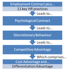 From HR practices to competitive advantage