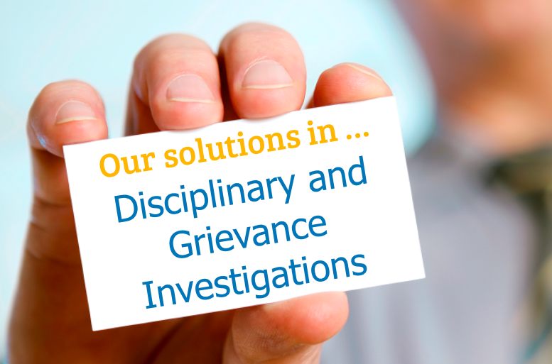 Solutions Disciplinary and Grievance Investigations