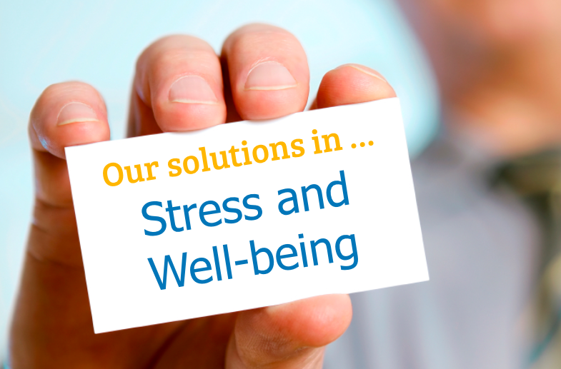 Solutions Stress and Well Being