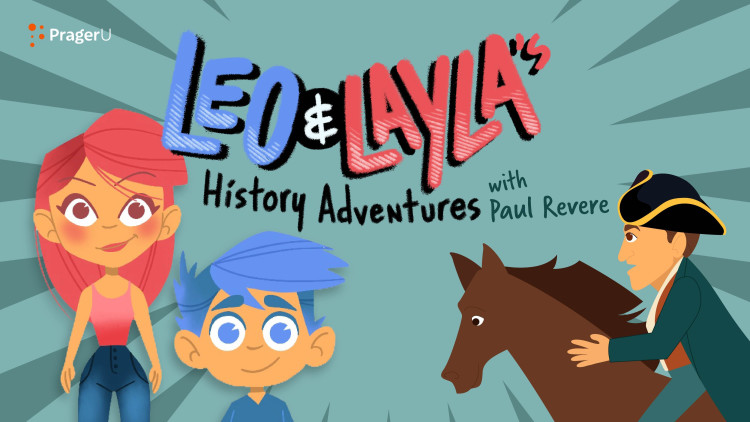 Leo & Layla's History Adventures with Paul Revere