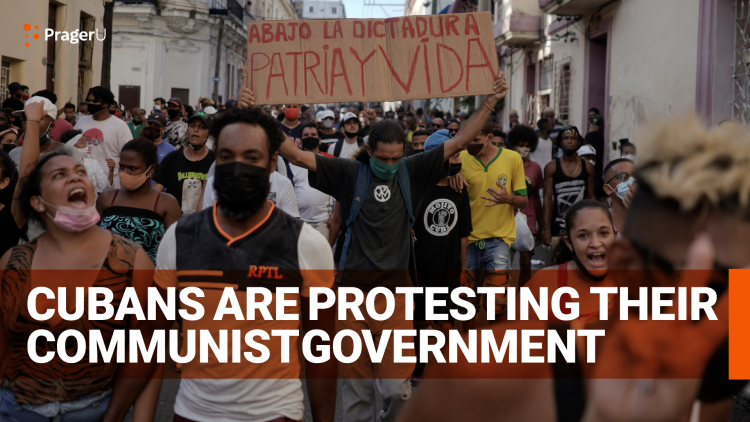 Cubans Are Protesting Their Communist Government